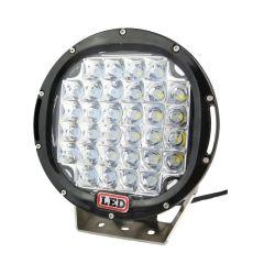 Phare LED - longue portée -Ultra puissant - 185W - 37 leds - 230mm