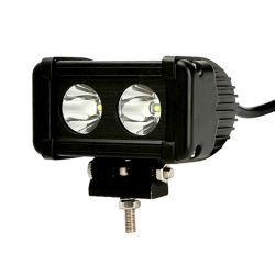 Barre LED RALLYE PRO 20W 2 modules de 10W - 130mm