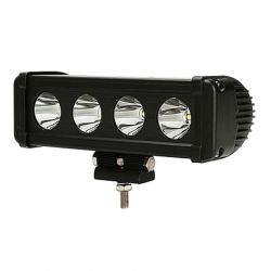 Barre LED RALLYE PRO 40W 4 modules de 10W - 200mm