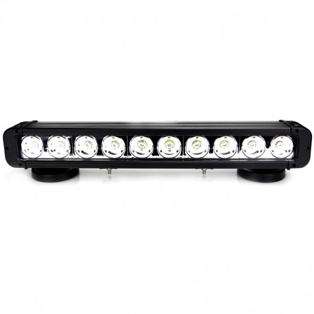 Barre LED RALLYE PRO 100W 10 modules de 10W - 450mm