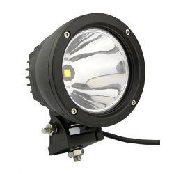 Feu LED longue portée - 25W - rond - 4x4 - 120mm