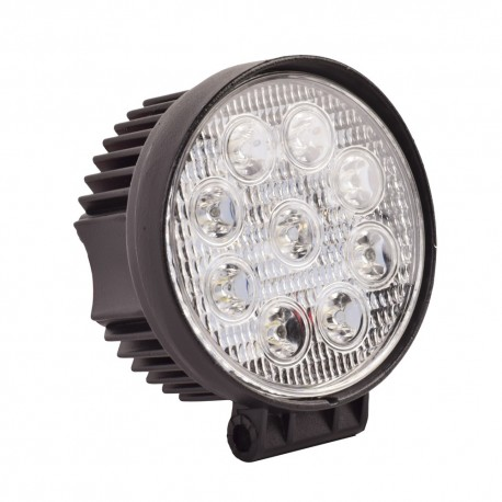 Phare LED additionnel - 27W - 110mm - rond - universel