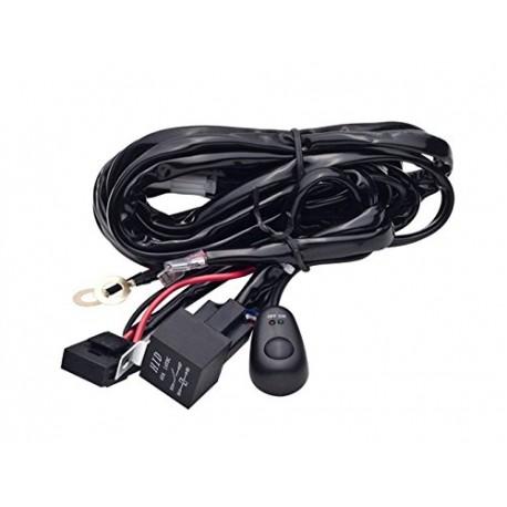 Cable relais - Faisceau électrique - pour rampe LED et barre LED