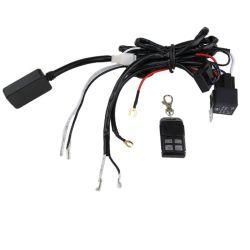 Télécommande sans fil - cable relais - rampe led et barre led voiture