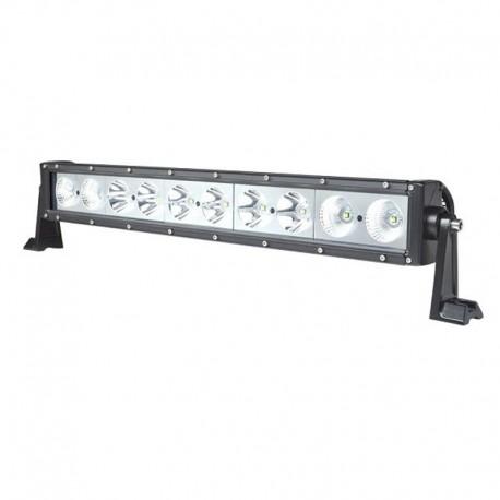 Barre LED 4x4 - Rampe LED 4x4 - 100W - 550mm - 10 leds