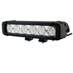 Barre LED RALLYE PRO 60W 6 modules de 10W - 280mm