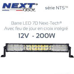 Barre LED 4x4 7D 12v 200W - 550mm - série NTS™