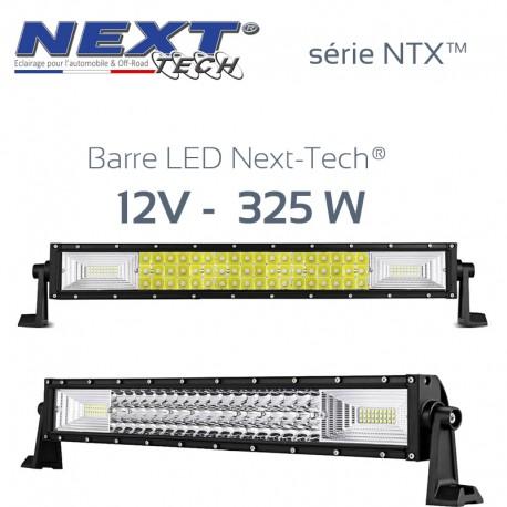 Barre LED automobile et 4x4 12v 325W - 550mm - série NTX™
